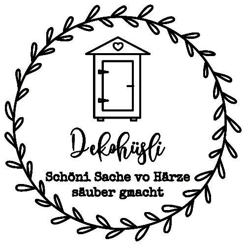 Logo fürs Dekohüsli